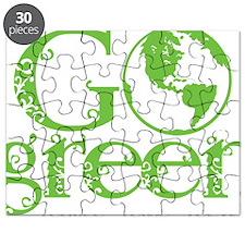 2-Go-Green-blk Puzzle