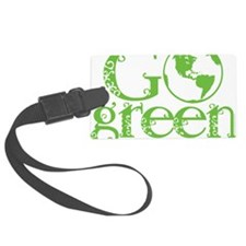 2-Go-Green-blk Luggage Tag