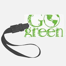 2-Go-Green-blk Luggage Tag