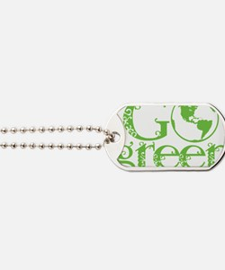 2-Go-Green-blk Dog Tags