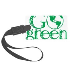 Go-Green Luggage Tag