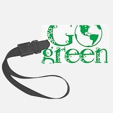 Go-Green Luggage Tag