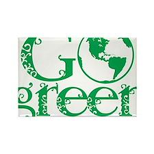 Go-Green Rectangle Magnet