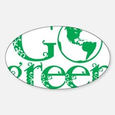 Go-Green Decal