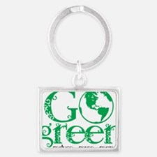 Go-Green Landscape Keychain