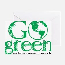 Go-Green Greeting Card