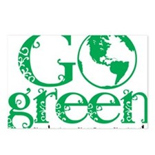 Go-Green Postcards (Package of 8)