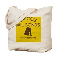 Chicos Bail Bonds Magnet Gold Tote Bag