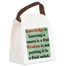 tomato4_rnd Canvas Lunch Bag