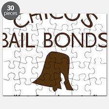Chicos Bail Bonds Brown Puzzle