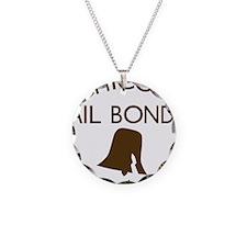 Chicos Bail Bonds Brown Necklace