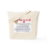 BUSH LIE Tote Bag