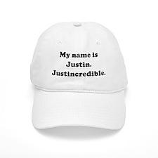My name is Justin. Justincred Baseball Cap
