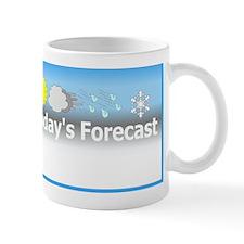Today's Forecast Mug