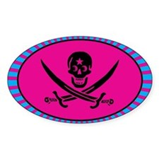 Funny Pirate Deluxe Decal