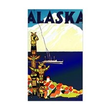 Vintage Travel Poster for Alas Decal