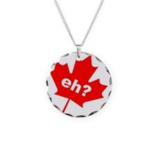 Eh? Canadian Slang Necklace