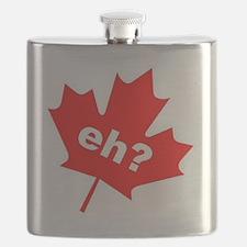 Eh? Canadian Slang Flask