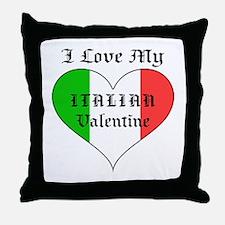 My Italian Valentine Throw Pillow