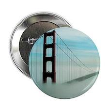 """Golden Gate Bridge in Fog 2.25"""" Button"""