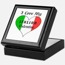 My Italian Valentine Keepsake Box