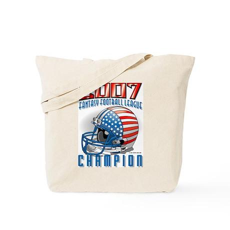 2007 Fantasy Football Champio Tote Bag
