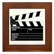 Director' Clap Board Framed Tile