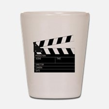 Director' Clap Board Shot Glass