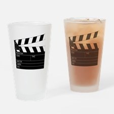 Director' Clap Board Drinking Glass