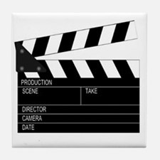 Director' Clap Board Tile Coaster