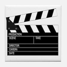 Director' Clap Board Tile Coaster