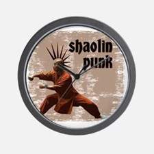 shaolin punk 3 Wall Clock