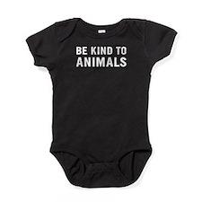 Be Kind Animals Baby Bodysuit