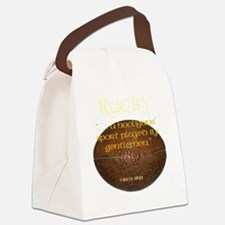 Rugby Hooligans Canvas Lunch Bag