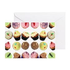 CupcakesMouseMat Greeting Card