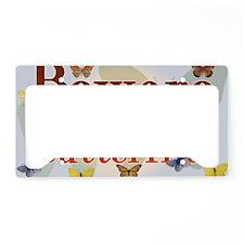 butterfliessigna License Plate Holder