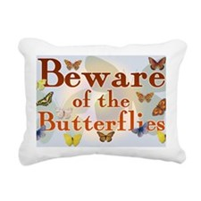 butterfliessigna Rectangular Canvas Pillow
