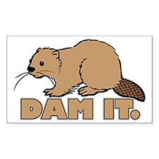 dam it Decal