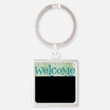 Cleanliness is Debatable Square Keychain