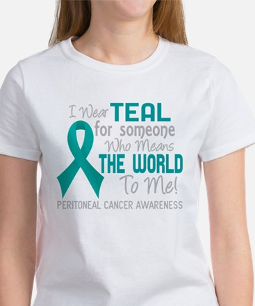 Peritoneal Cancer MeansWorld T-Shirt