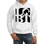 LGBT Black Pop Hooded Sweatshirt