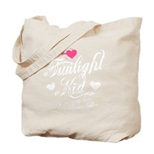 Heart Twilight Kid -dk Tote Bag
