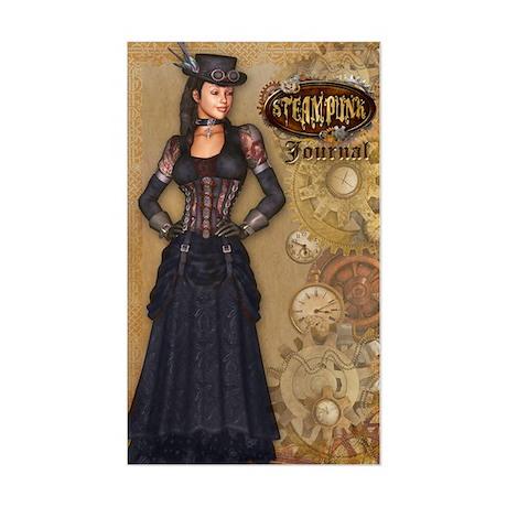 steampunk Sticker (Rectangle)