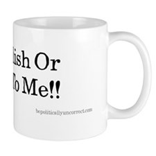 Speak English Mug