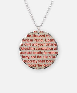2-THE CONSTITUTION Necklace