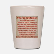 2-THE CONSTITUTION Shot Glass