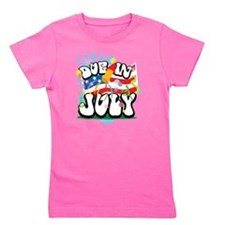 Due-in-July Girl's Tee