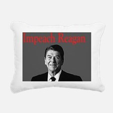 Impeach Reagan Rectangular Canvas Pillow