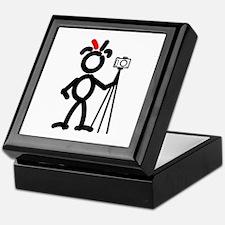 Red Photo3 Keepsake Box