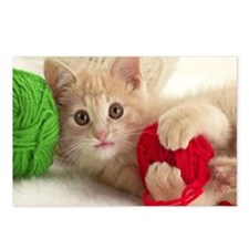 Yarn Kitty mousepad Postcards (Package of 8)
